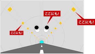 イメージ:トンネルのなかの「デンセン」