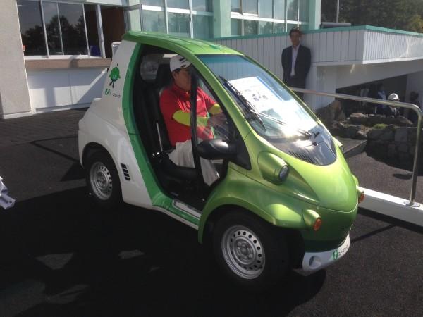 超小型EV COMS
